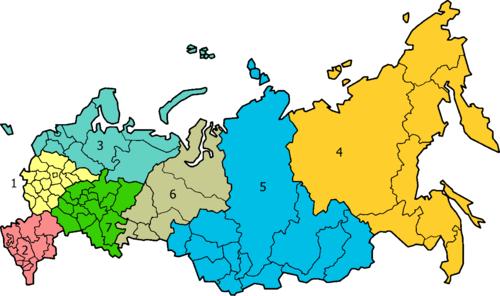 جغرافیای روسیه :: نقشه کشور روسیه :: وبلاگ تخصصی زبان و فرهنگ روسی :: روسیه شناسی